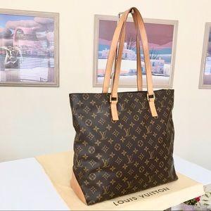 Louis Vuitton Monogram Cabas Mezzo Shoulder Bag 💼